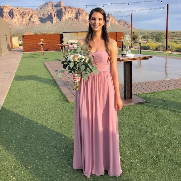 066498fa488f Azazie Dresses & Skirts - Azazie Dusty Rose Bridesmaid Dress